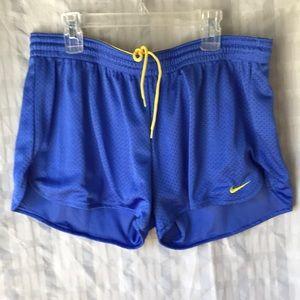 Nike running fitness shorts Sz M